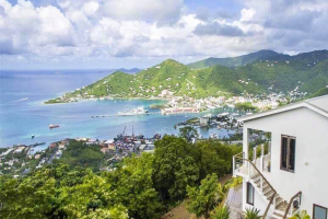 view in butu mountain property British Virgin Islands