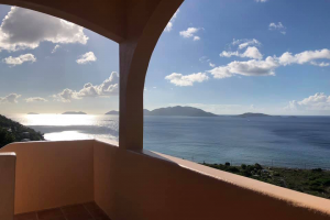 balcony view Zion Hill Rental Tortola British Virgin Islands