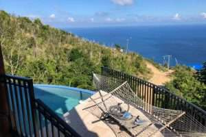 pool view three bedroom standalone home in georges north side tortola bvi re/max best priced properties