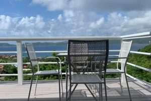 outdoor balcony spacious apartment in west end Tortola bvi remax bpp