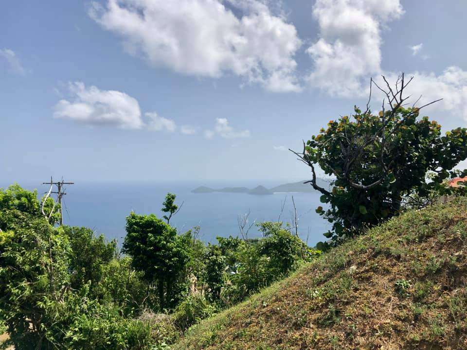 view from two bedroom in George's Northside Tortola remax bpp