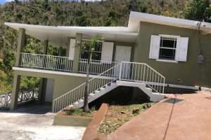 outdoor view McNamara house remax best priced Tortola bvi