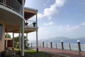 sea view 4 bedroom family home Zion hill tortola remax best priced