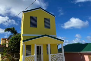 front view standalone one bedroom in georges Northside RE/MAX REMAX Best Priced Properties Tortola British Virgin Islands
