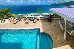 pool long bay 3 bedroom villa RE/MAX Best Priced Properties Tortola British Virgin Islands