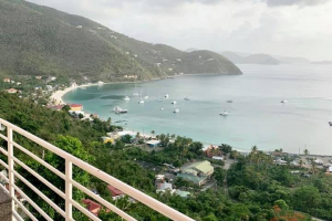 balcony Modern Fully furnished one bed in cane garden bay RE/MAX Best Priced Properties Tortola British Virgin Islands